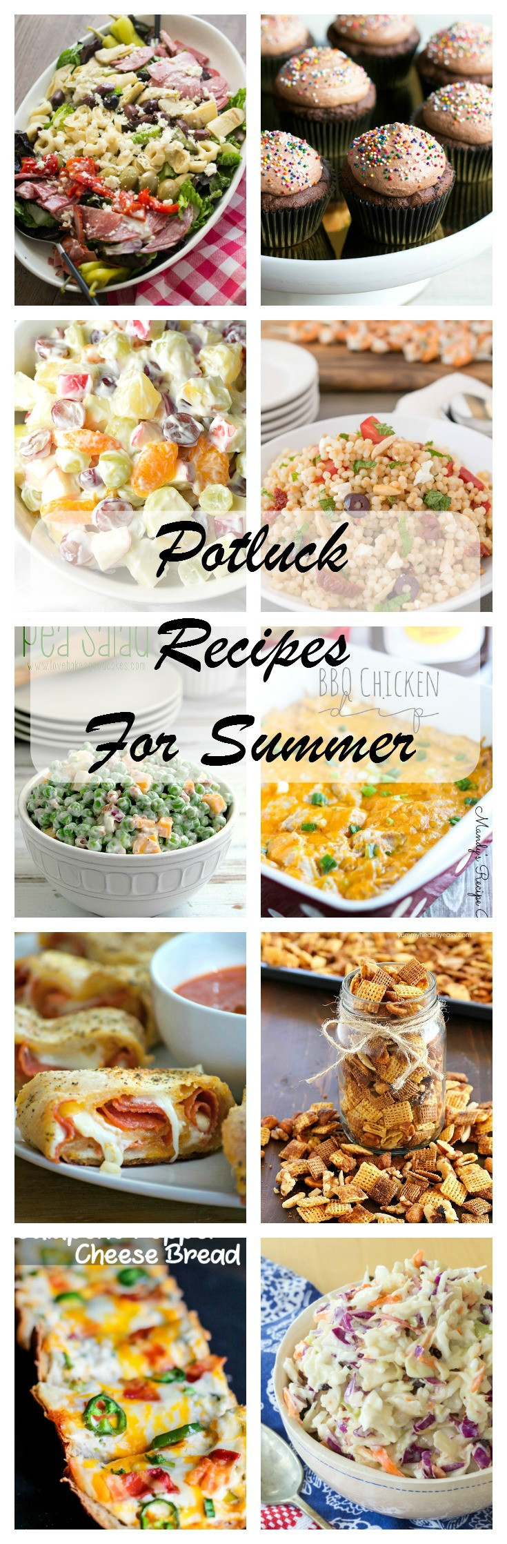 Potluck Side Dishes For Summer  Best Summer Potluck Recipes Kleinworth & Co