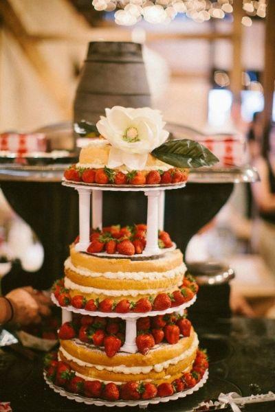 Pound Cake Wedding Cake  Pinterest • The world's catalog of ideas