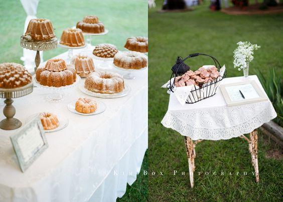 Pound Cake Wedding Cake  We Wedding and Ice on Pinterest