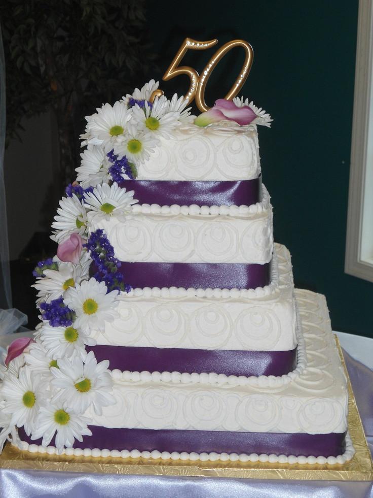 Pound Cake Wedding Cake  50th Wedding Anniversary Cake for 200 Pound Cake with