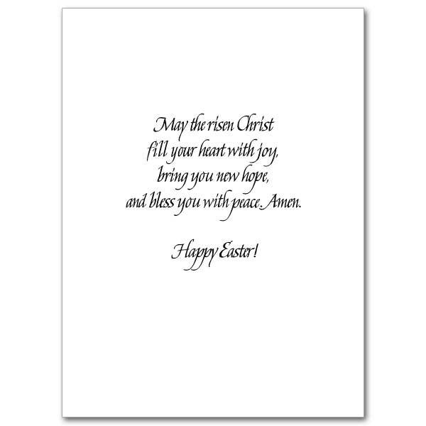 Prayer For Easter Dinner  An Easter Prayer Easter Card