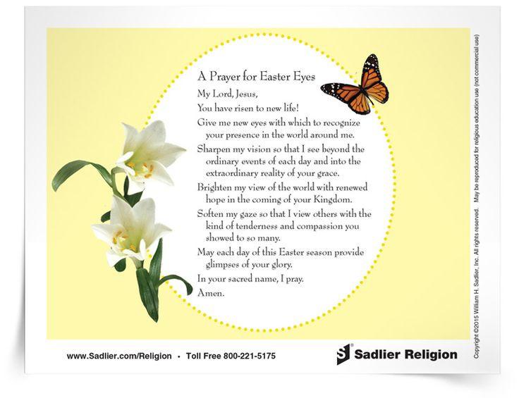 Prayer For Easter Sunday Dinner  17 Best images about Catholic Easter on Pinterest