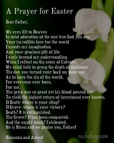 Prayer For Easter Sunday Dinner  17 Best images about easter quotes on Pinterest
