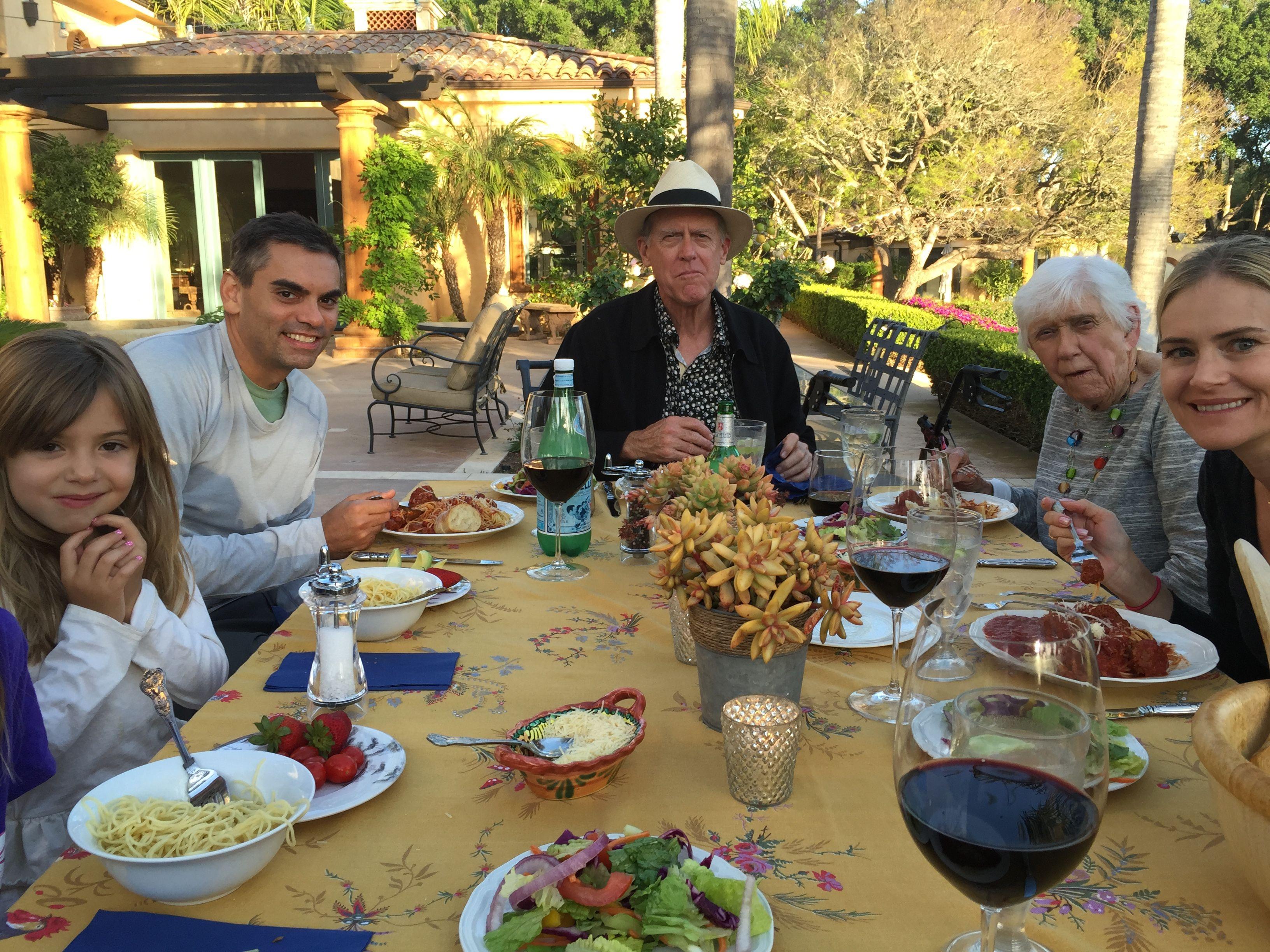 Pre Made Easter Dinner  Family Album Somebunnies Visited for Easter