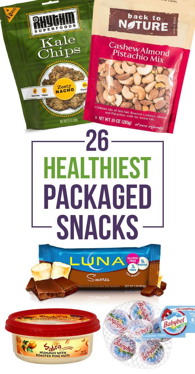 Prepackaged Healthy Snacks  healthy prepackaged foods