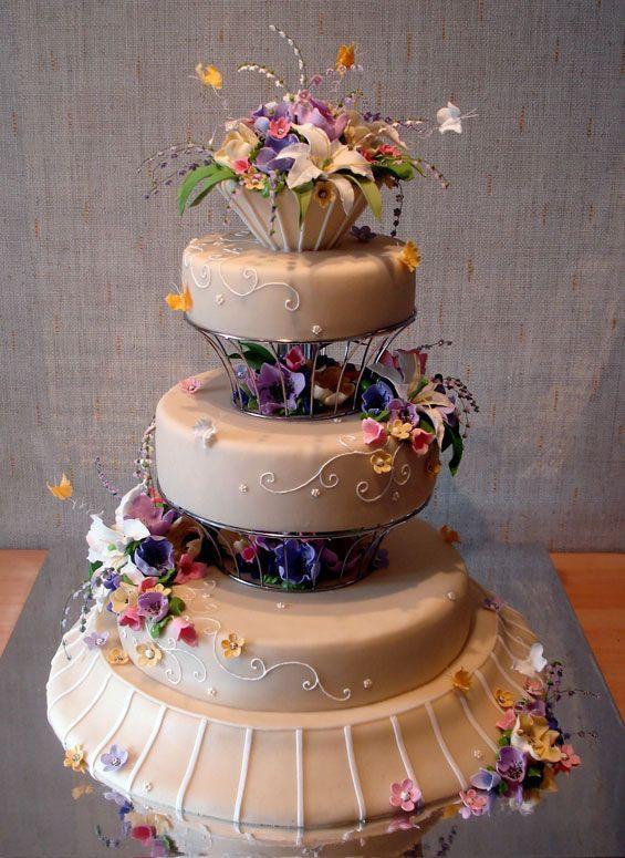 Prettiest Wedding Cakes  Beautiful and Creative Wedding Cakes 35 pics Izismile