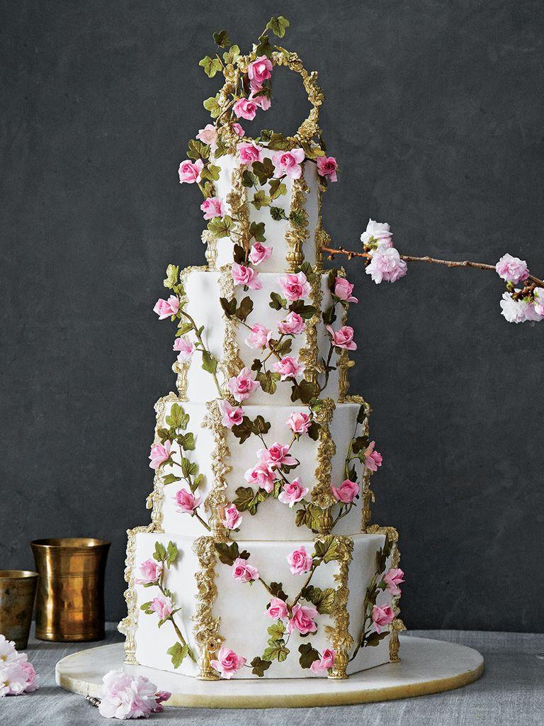 Prettiest Wedding Cakes  25 Beautiful wedding cake ideas