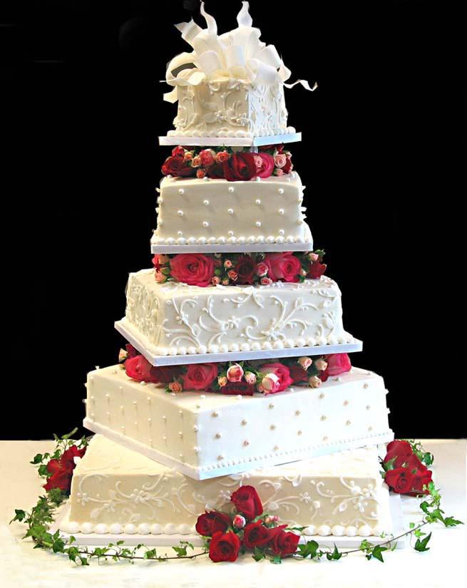 Prettiest Wedding Cakes  Beautiful Wedding Cakes Ideas