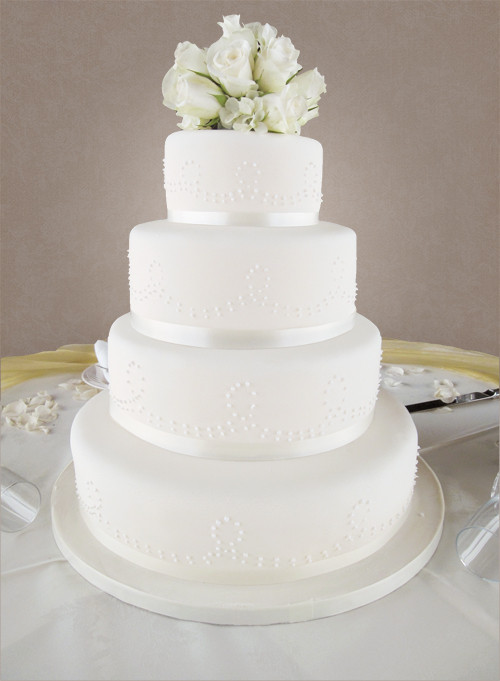 Pricing Of Wedding Cakes  Cost of 4 tier wedding cake idea in 2017