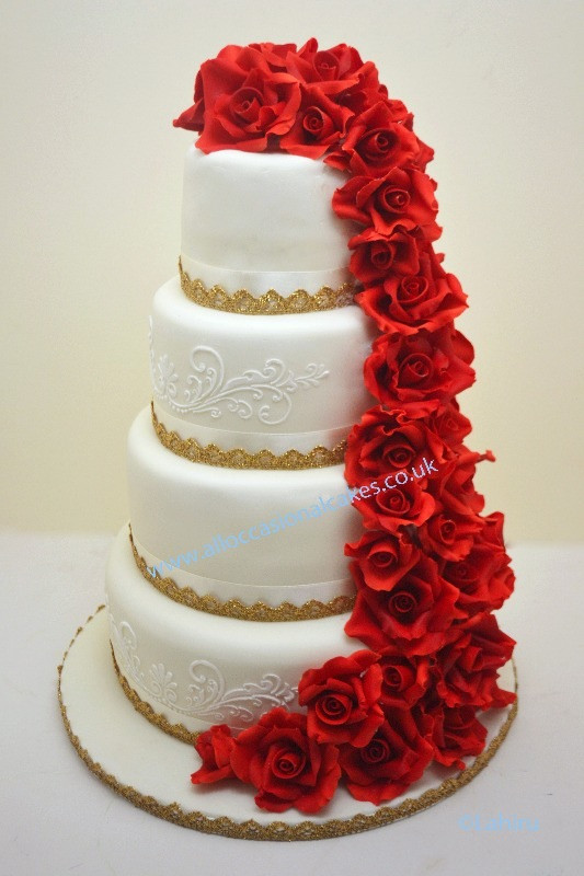 Pricing Of Wedding Cakes  5 tier wedding cake prices idea in 2017