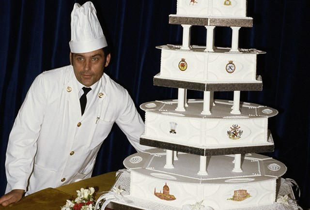 Princess Diana Wedding Cakes  A Slice of Princess Diana and Prince Charles's Wedding