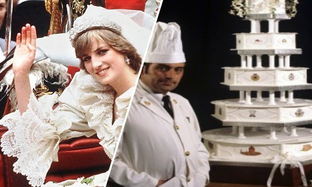 Princess Diana Wedding Cakes  Trending