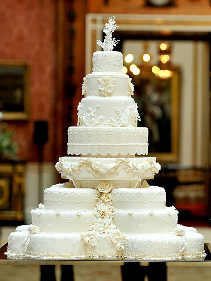 Princess Diana Wedding Cakes  Royal Wedding Cakes Through the Ages Prince William Kate