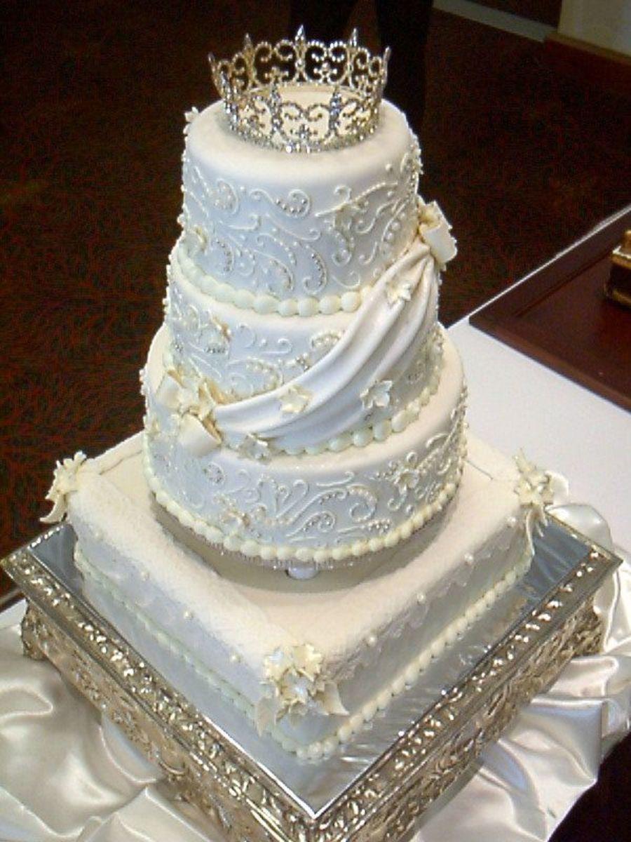 Princess Wedding Cakes  Princess Wedding Cake CakeCentral