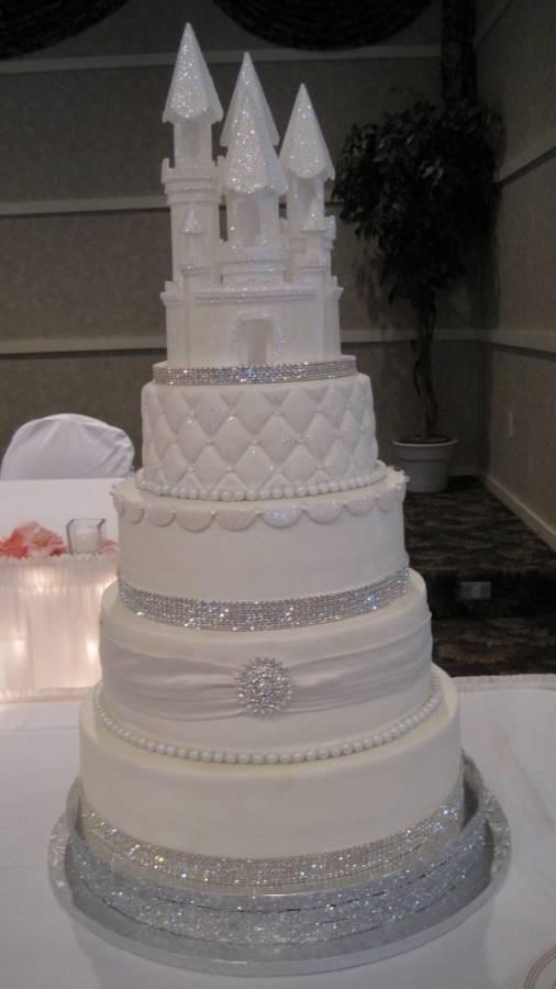 Princess Wedding Cakes  Fairytale Wedding Theme Ideas Elegant Wedding