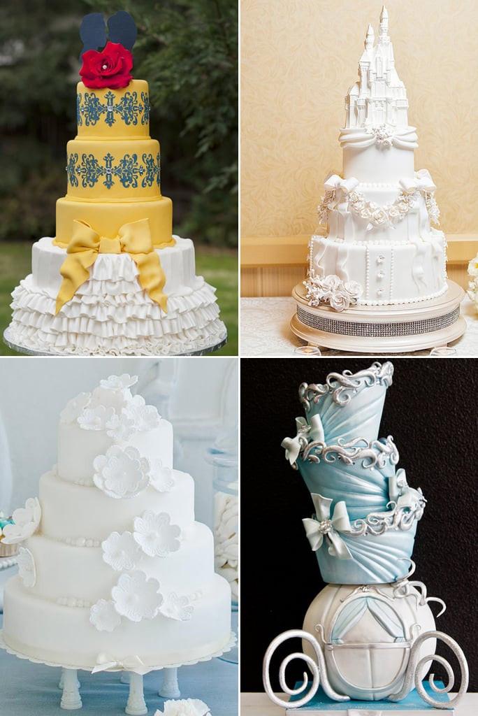 Princess Wedding Cakes  Disney Princess Wedding Cakes