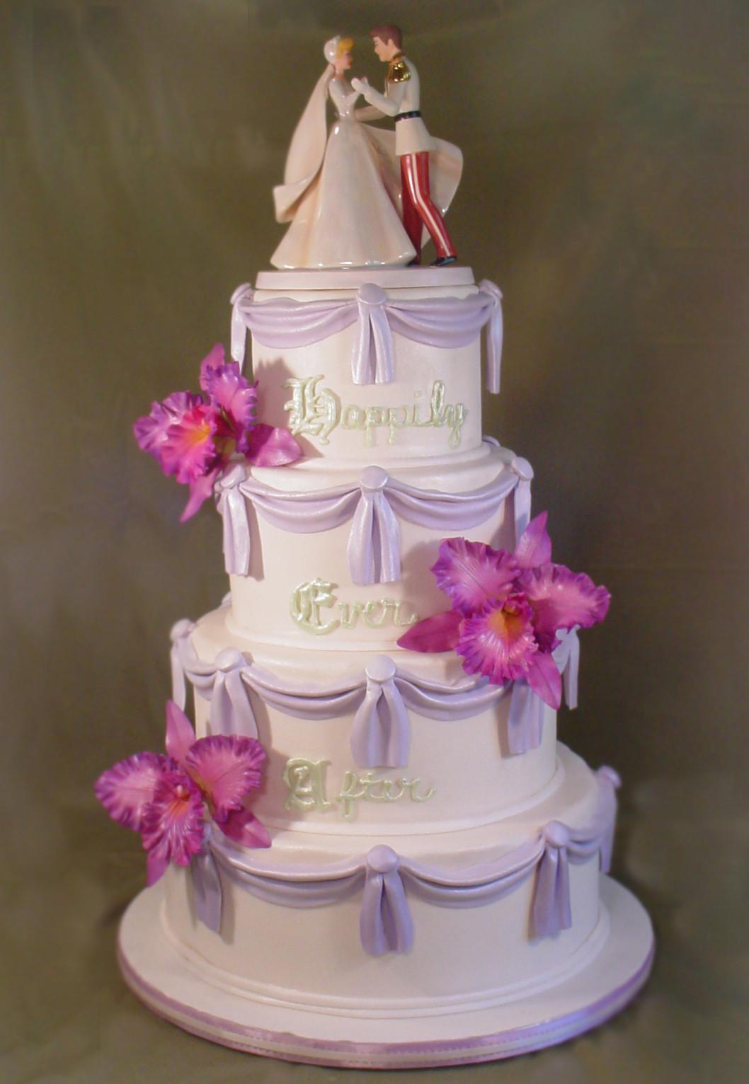 Princess Wedding Cakes  Let them eat cake