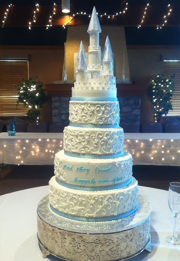 Princess Wedding Cakes  Table This