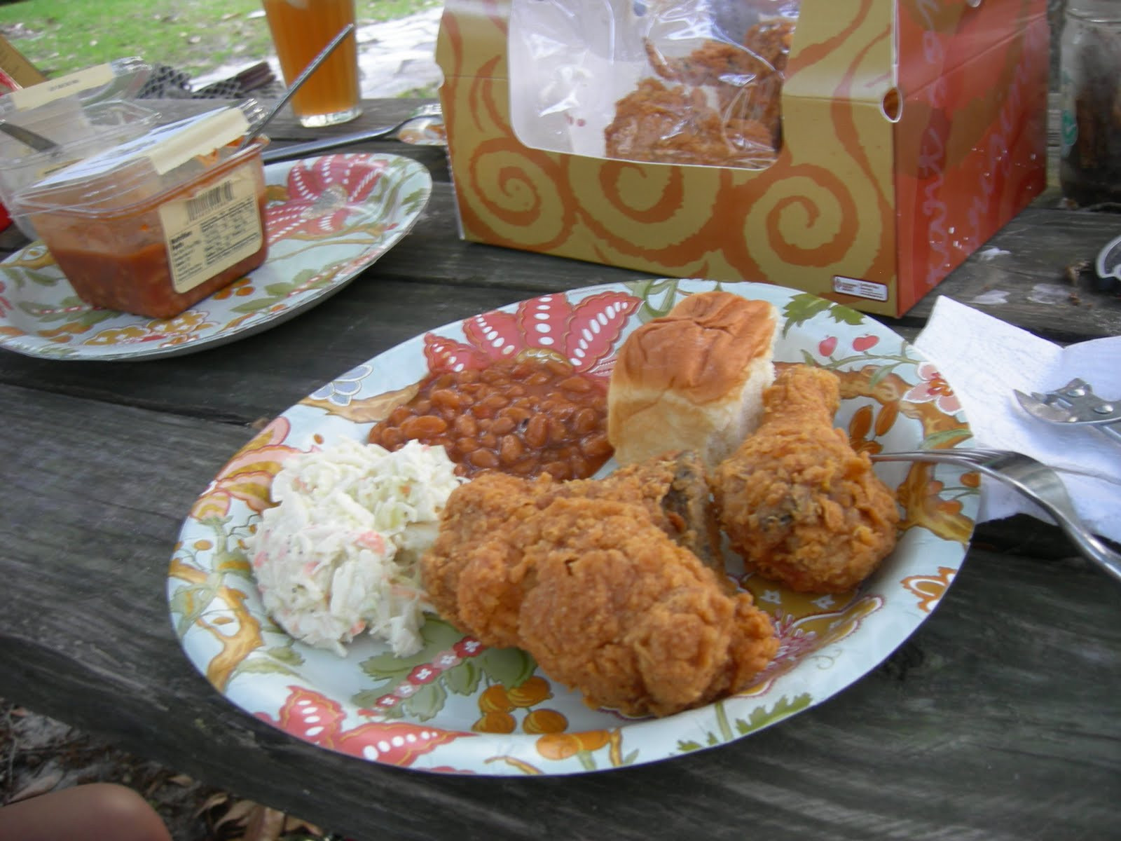 Publix Easter Dinner  Long Distance Dining Monday his Fried Chicken dinner