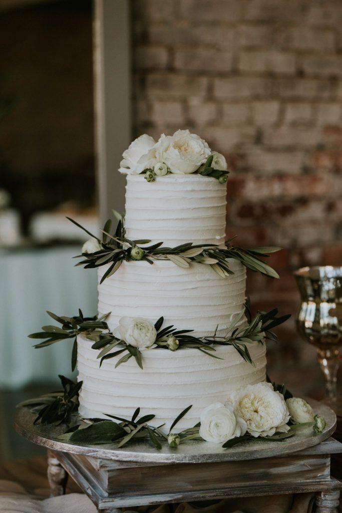 Publix Wedding Cakes  Publix wedding cake with green garnishes weddingcake