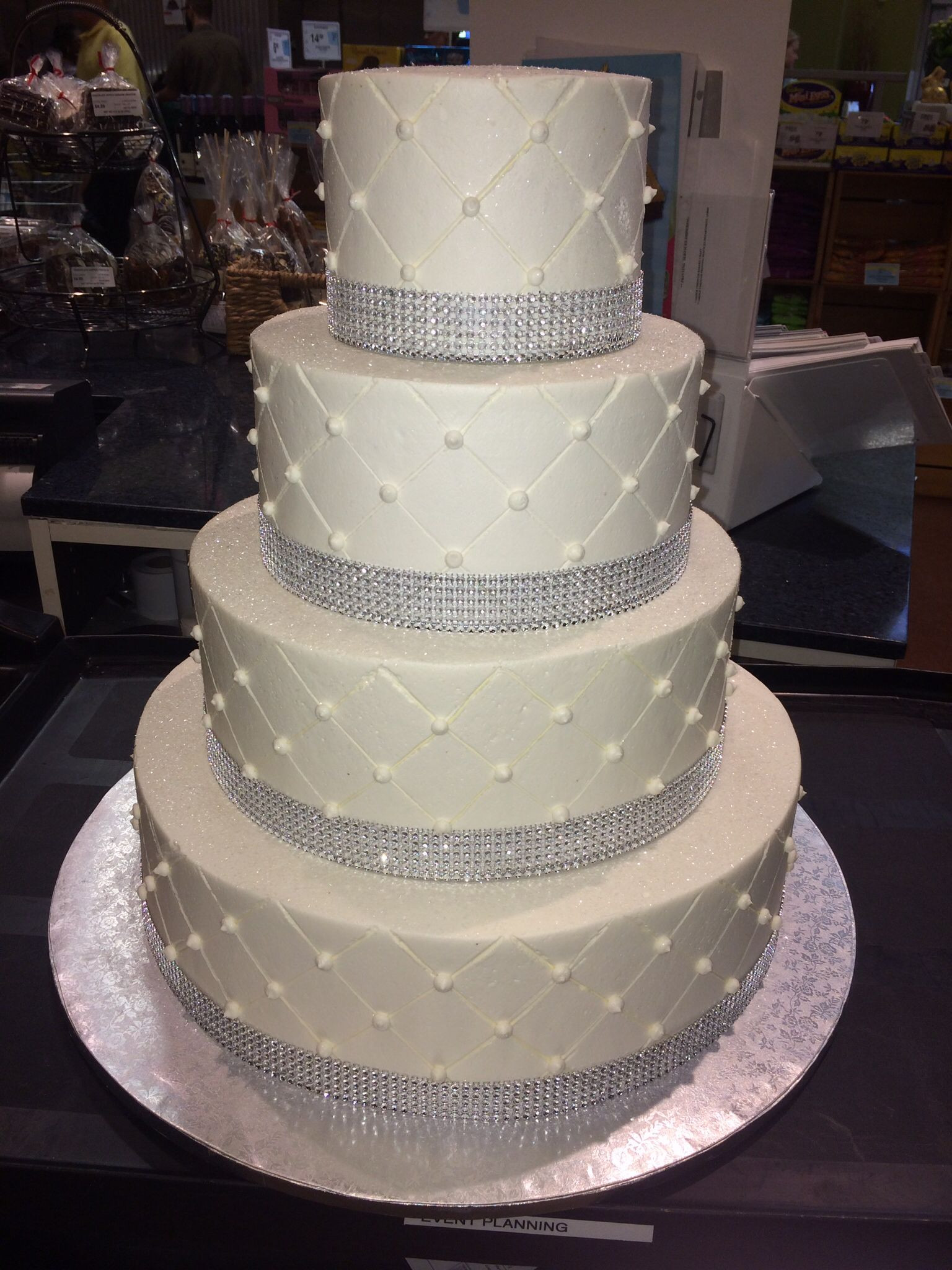 Publix Wedding Cakes Cost  Publix GreenWise Wedding Cake Hyde Park Tampa FL