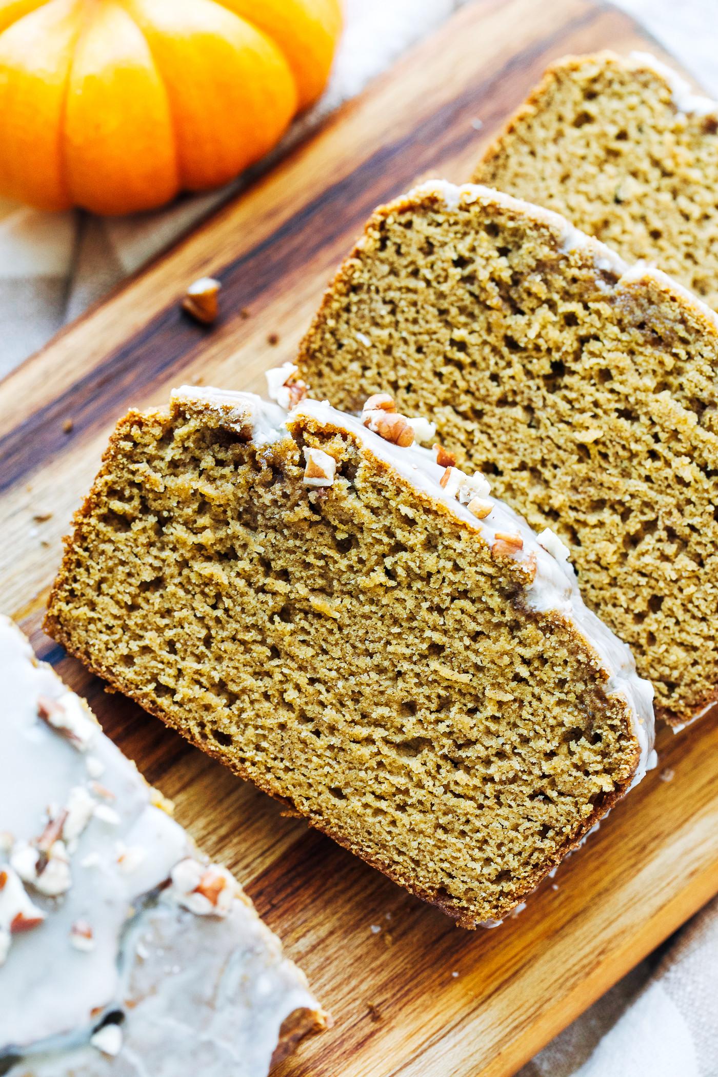 Pumpkin Bread Healthy  Healthy Pumpkin Bread Gluten free & Dairy free Making