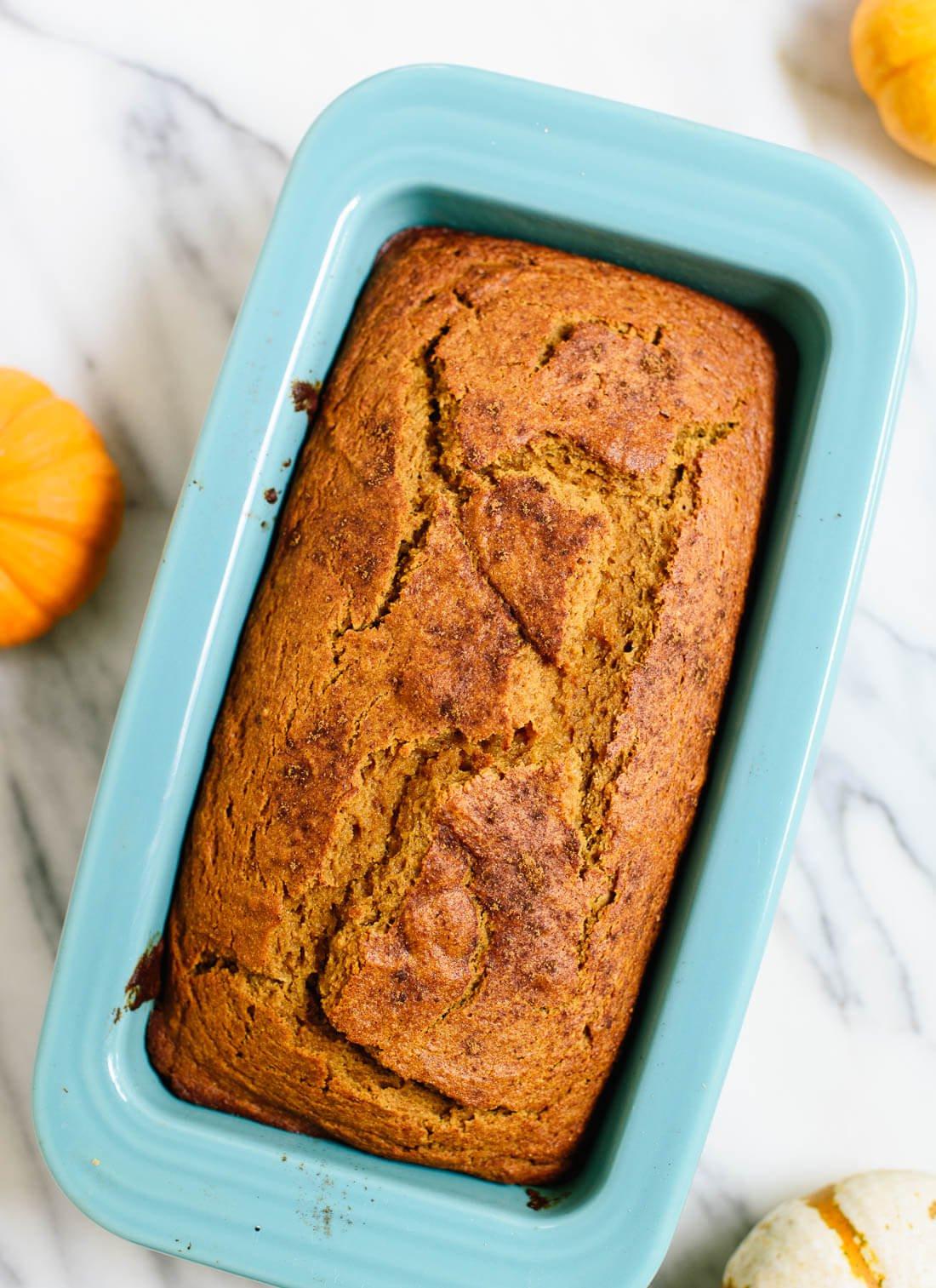 Pumpkin Bread Healthy  Healthy Pumpkin Bread Recipe Cookie and Kate