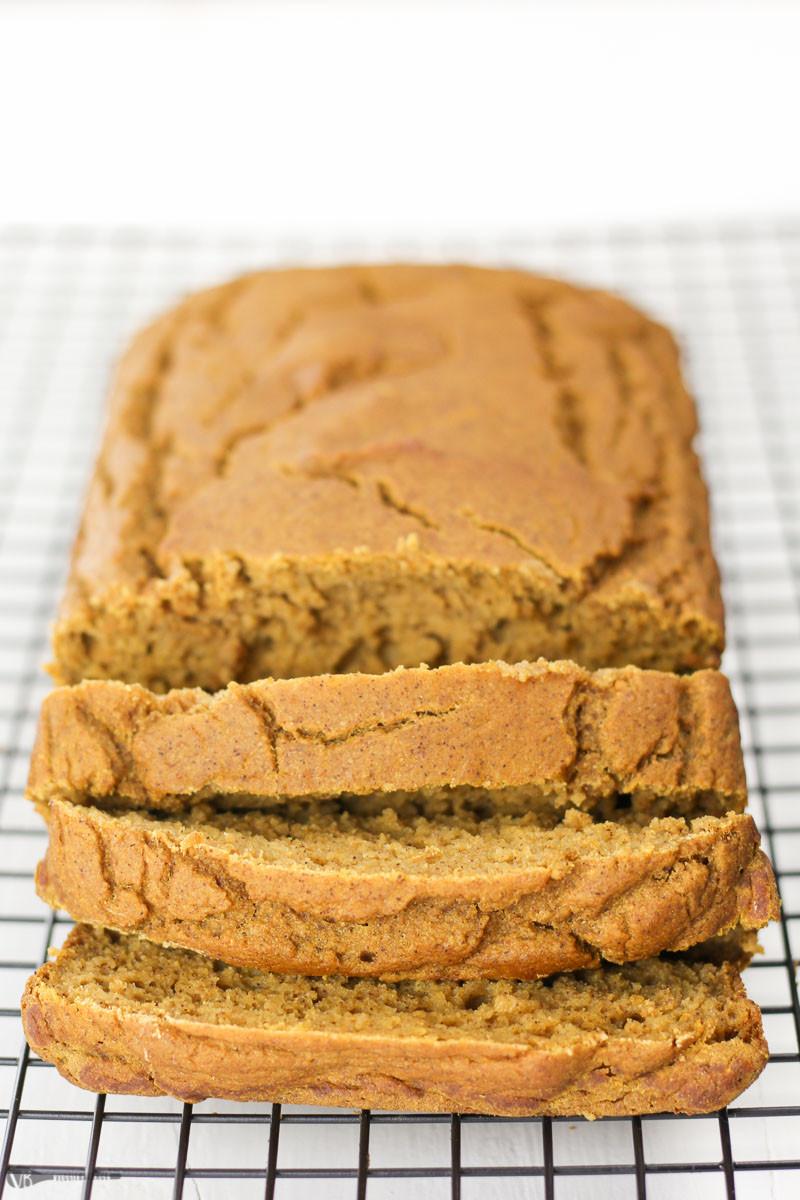 Pumpkin Bread Recipe Healthy  Gluten Free Pumpkin Bread Recipe made Healthy VeggieBalance