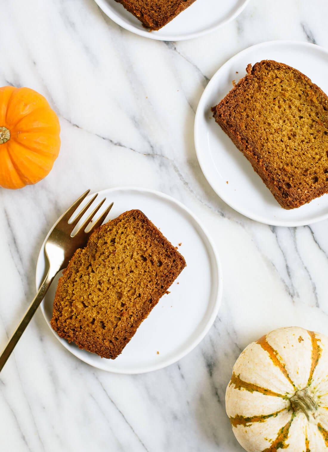 Pumpkin Bread Recipe Healthy  Healthy Pumpkin Bread & video Recipes