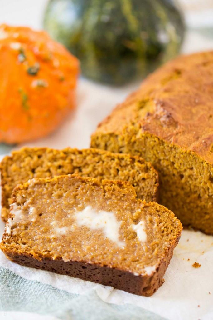 Pumpkin Bread Recipe Healthy  Healthy Pumpkin Bread — Tastes Lovely