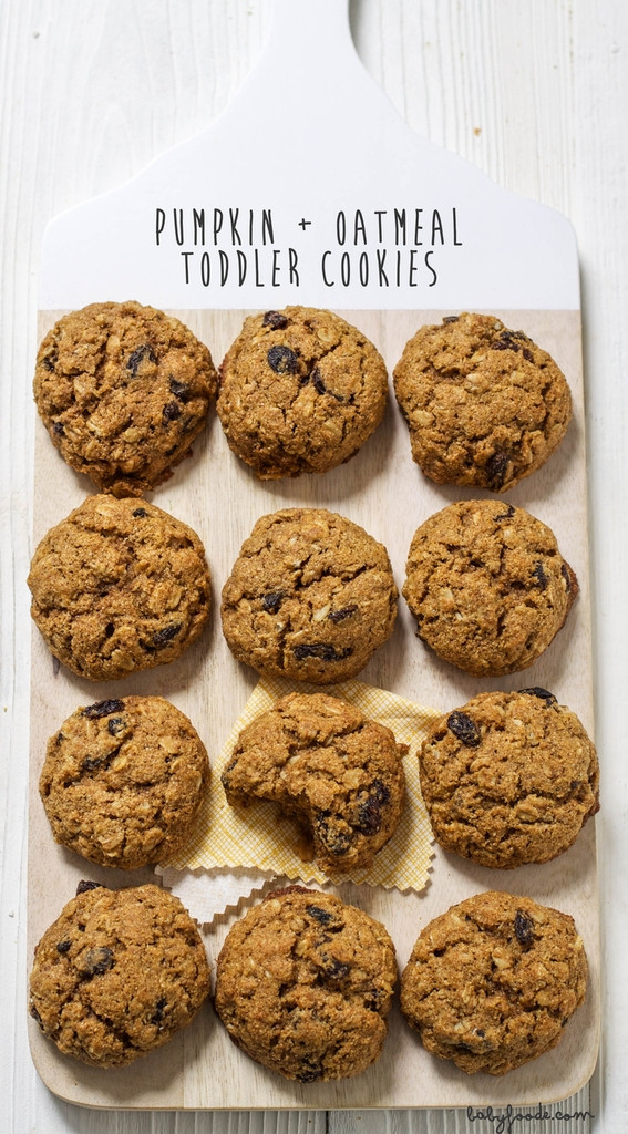 Pumpkin Cookie Recipes Healthy  Healthy low sugar baby cookie recipes Cool Mom Eats