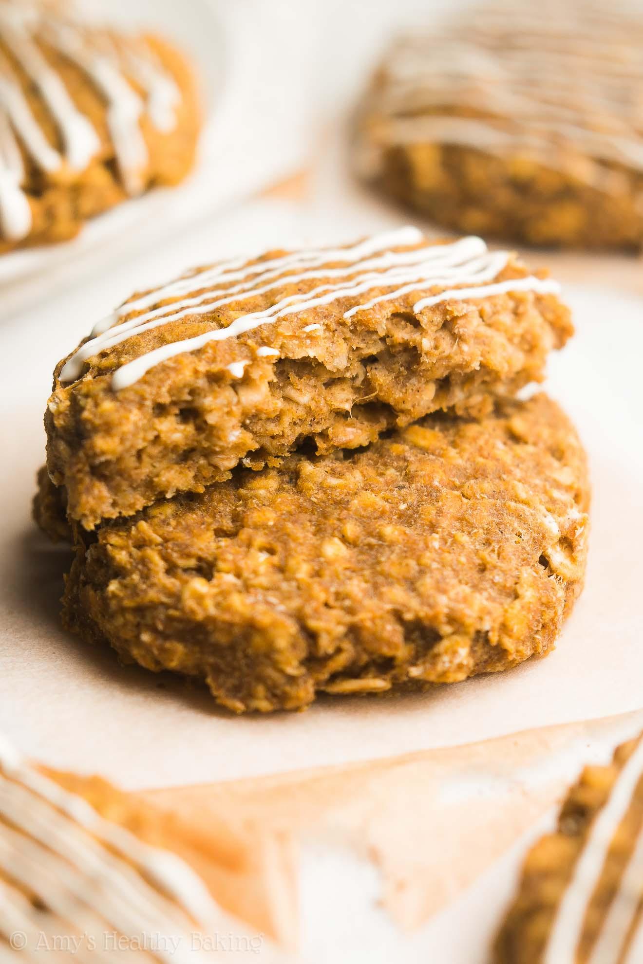 Pumpkin Cookie Recipes Healthy  healthy pumpkin cookies recipes
