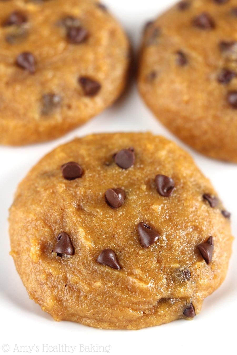 Pumpkin Cookies Recipe Healthy  Ultimate Healthy Soft & Chewy Pumpkin Chocolate Chip
