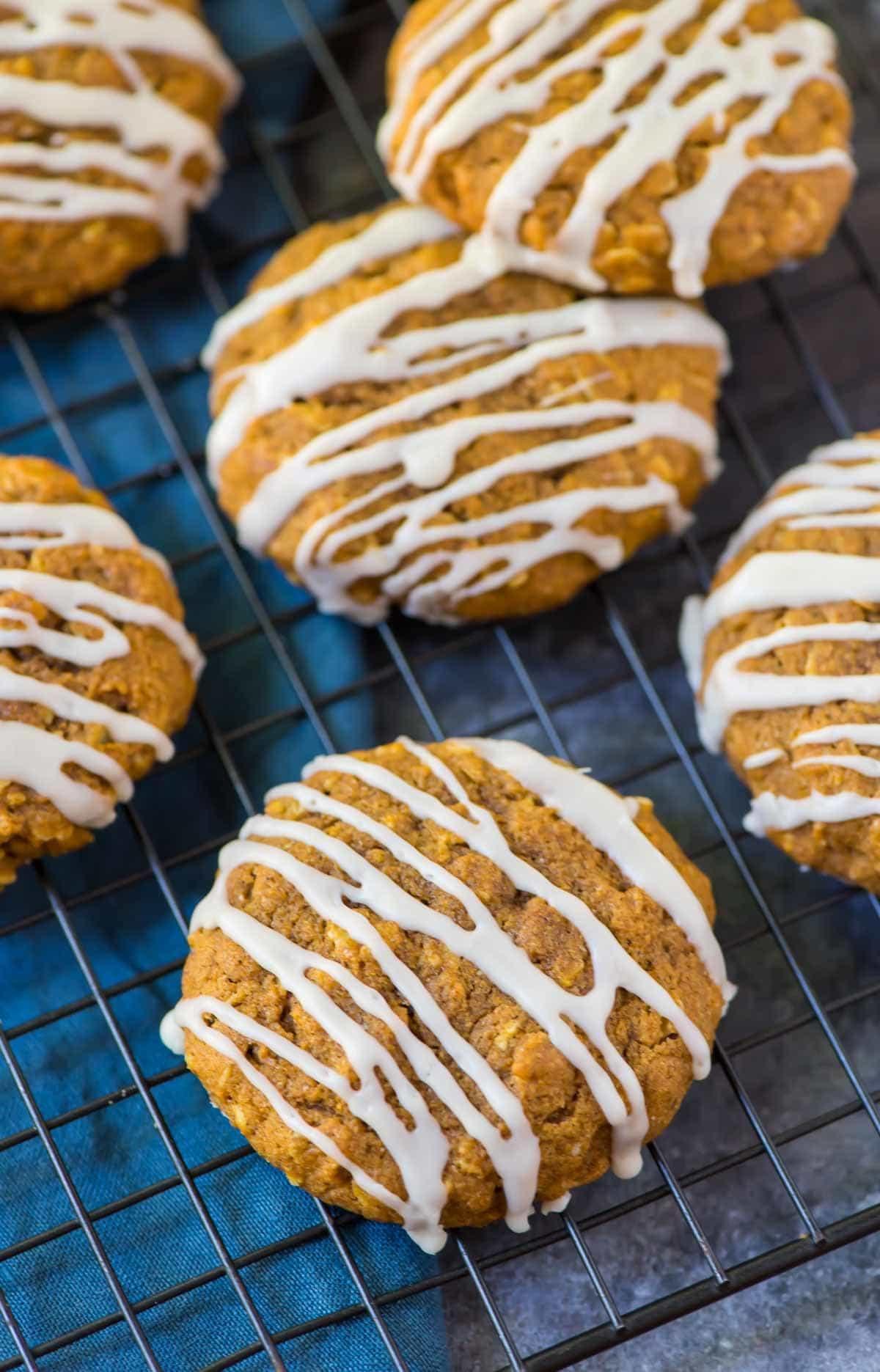 Pumpkin Cookies Recipe Healthy  Pumpkin Oatmeal Cookies