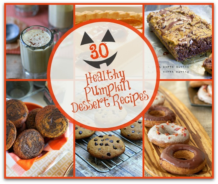 Pumpkin Dessert Healthy  30 Healthy Pumpkin Dessert Recipes Simple Pure Beauty