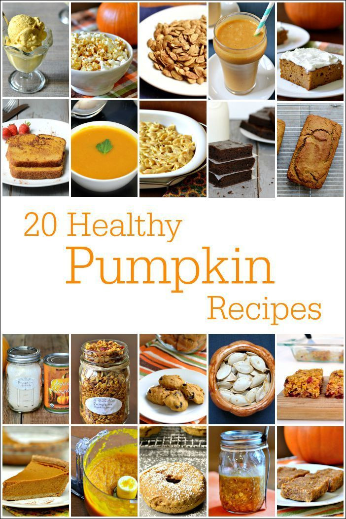 Pumpkin Dessert Recipes Healthy  20 Healthy Pumpkin Recipes Desserts Snacks & Mains