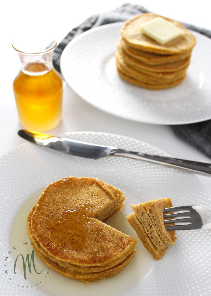 Pumpkin Pancakes Healthy  how to make healthy pumpkin pancakes