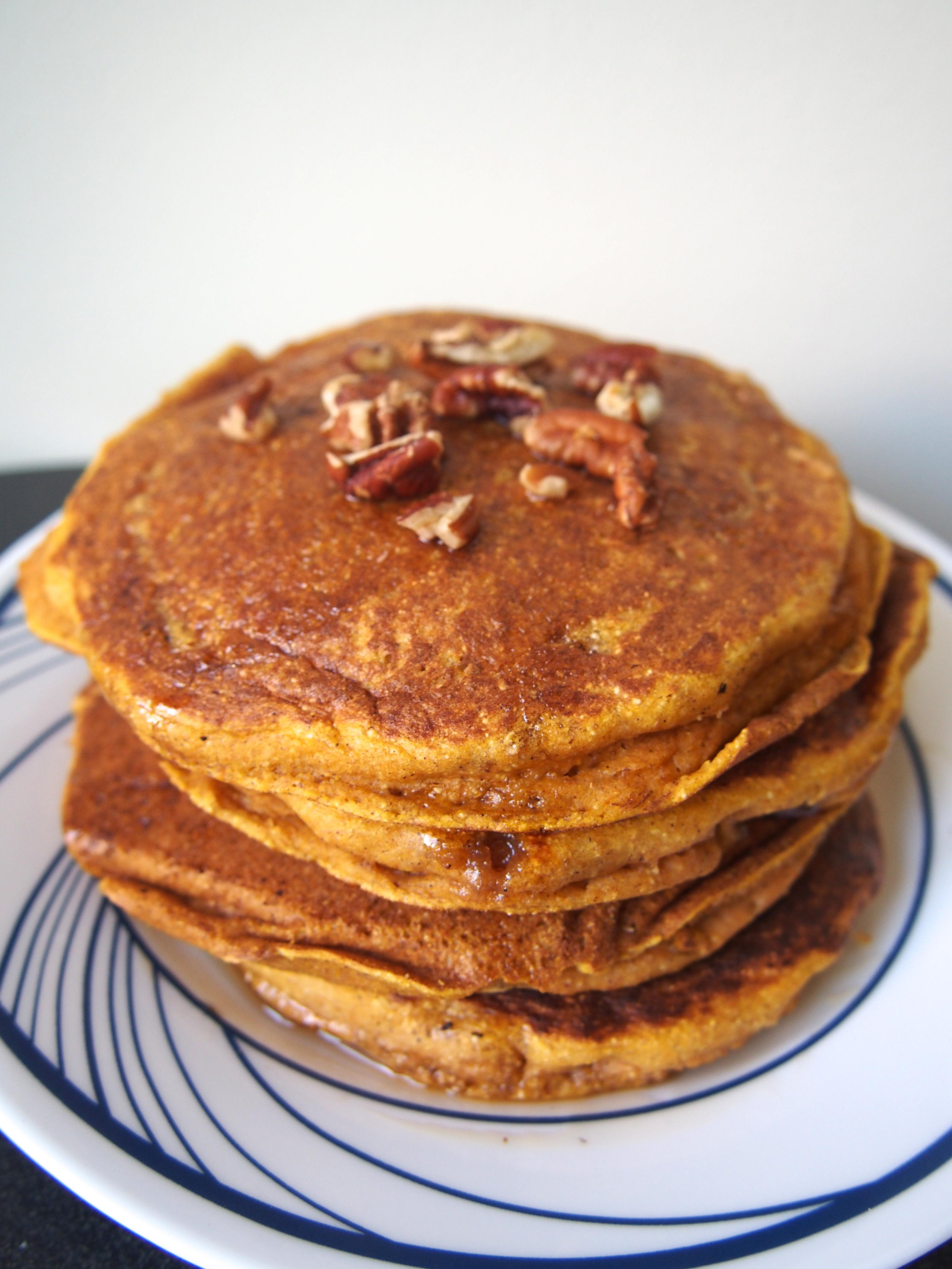 Pumpkin Pancakes Healthy  pumpkin pancakes healthy