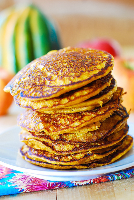 Pumpkin Pancakes Healthy  Easy pumpkin pancakes Julia s Album