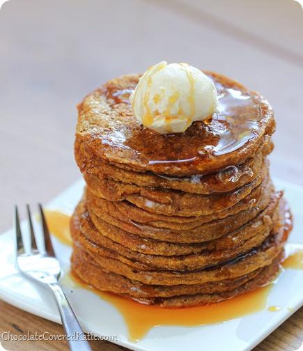 Pumpkin Pancakes Healthy  Pumpkin Pancakes like eating breakfast pumpkin pie