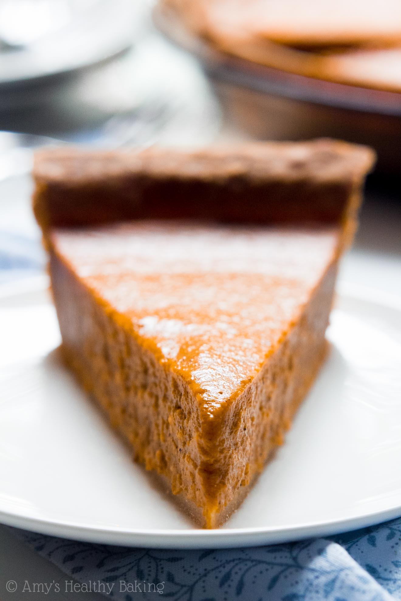 Pumpkin Pie Healthy  healthy pumpkin pie recipe greek yogurt