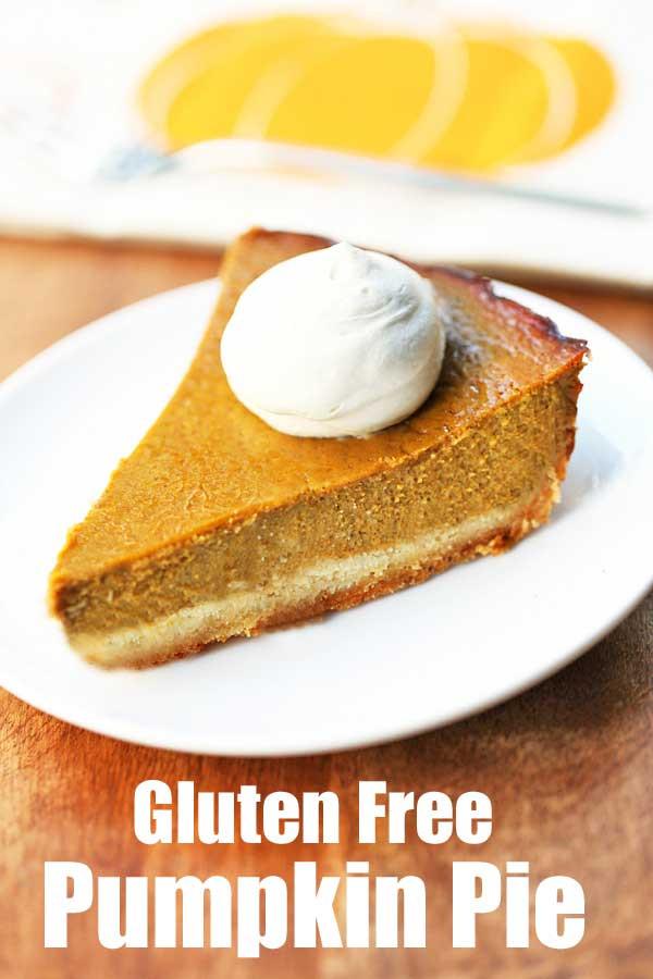 Pumpkin Pie Recipes Healthy  Gluten Free Pumpkin Pie Recipe