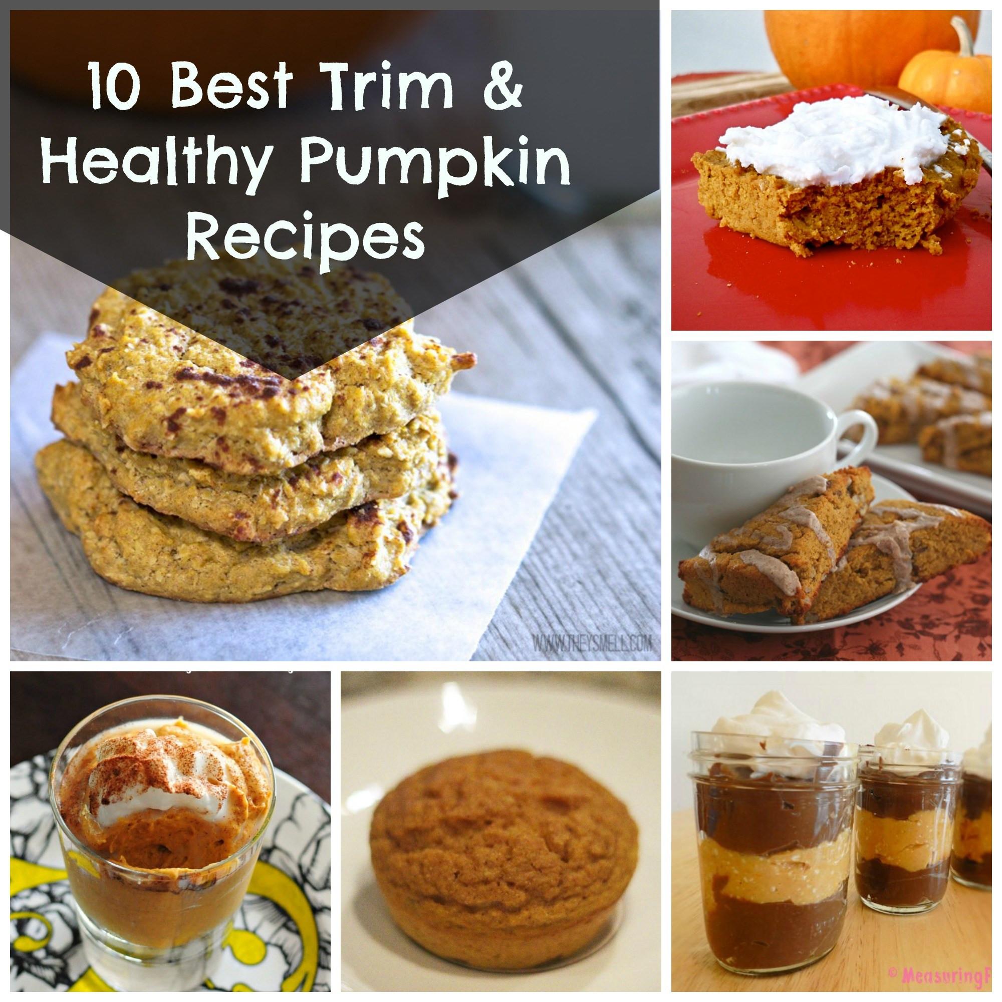 Pumpkin Recipes Healthy  10 Best Trim and Healthy Pumpkin Recipes Grassfed Mama