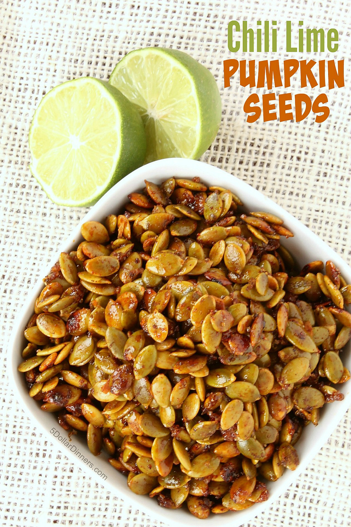Pumpkin Seeds Healthy  Chili Lime Pumpkin Seeds 31 Days of Healthy Snack Recipes