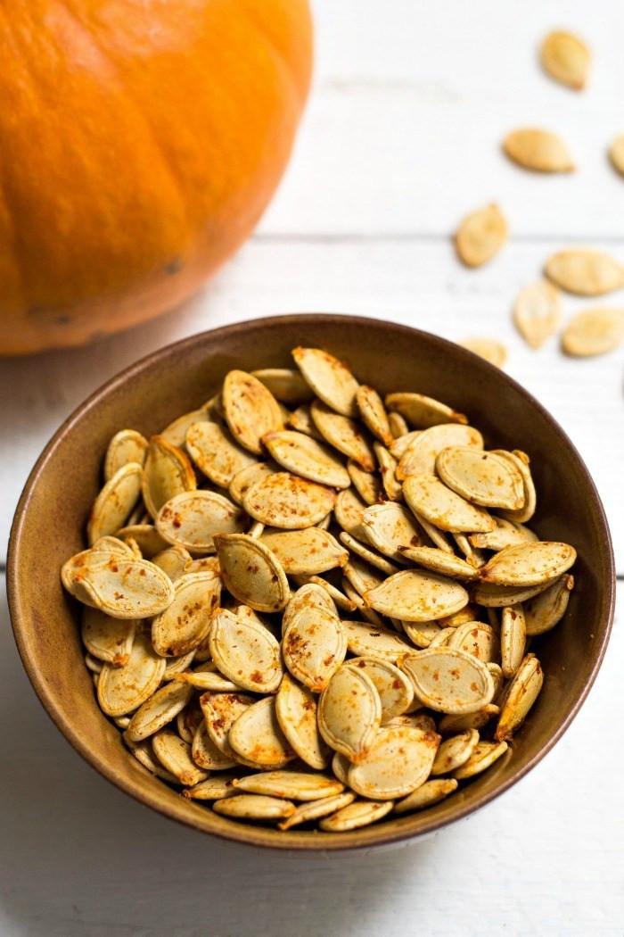 Pumpkin Seeds Healthy  Savory Roasted Pumpkin Seeds a Healthy Snack
