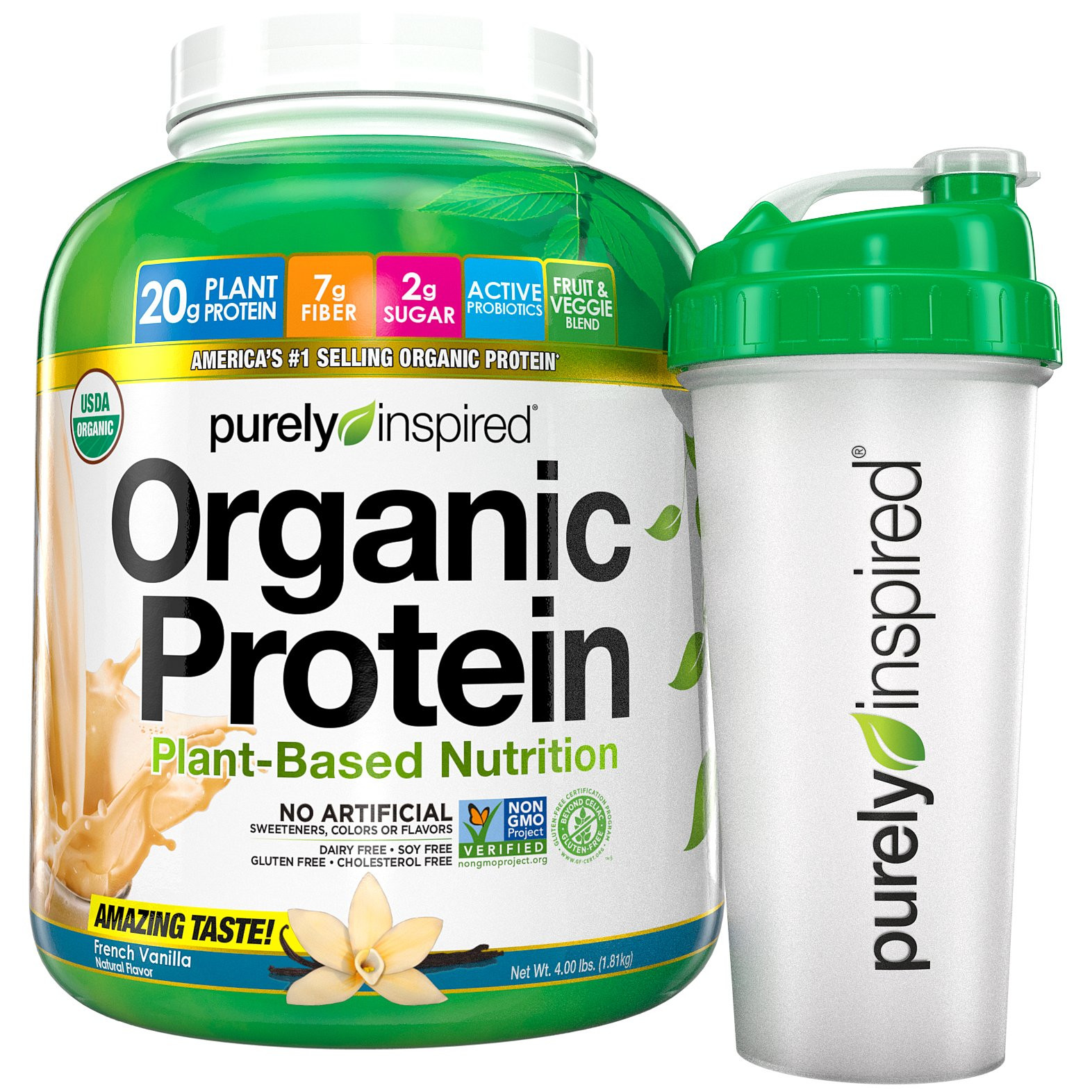 Purely Inspired Organic Greens  Amazon Purely Inspired Organic Greens USDA Organic