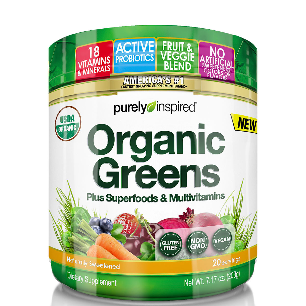 Purely Inspired Organic Greens  Purely Inspired Organic Greens Review