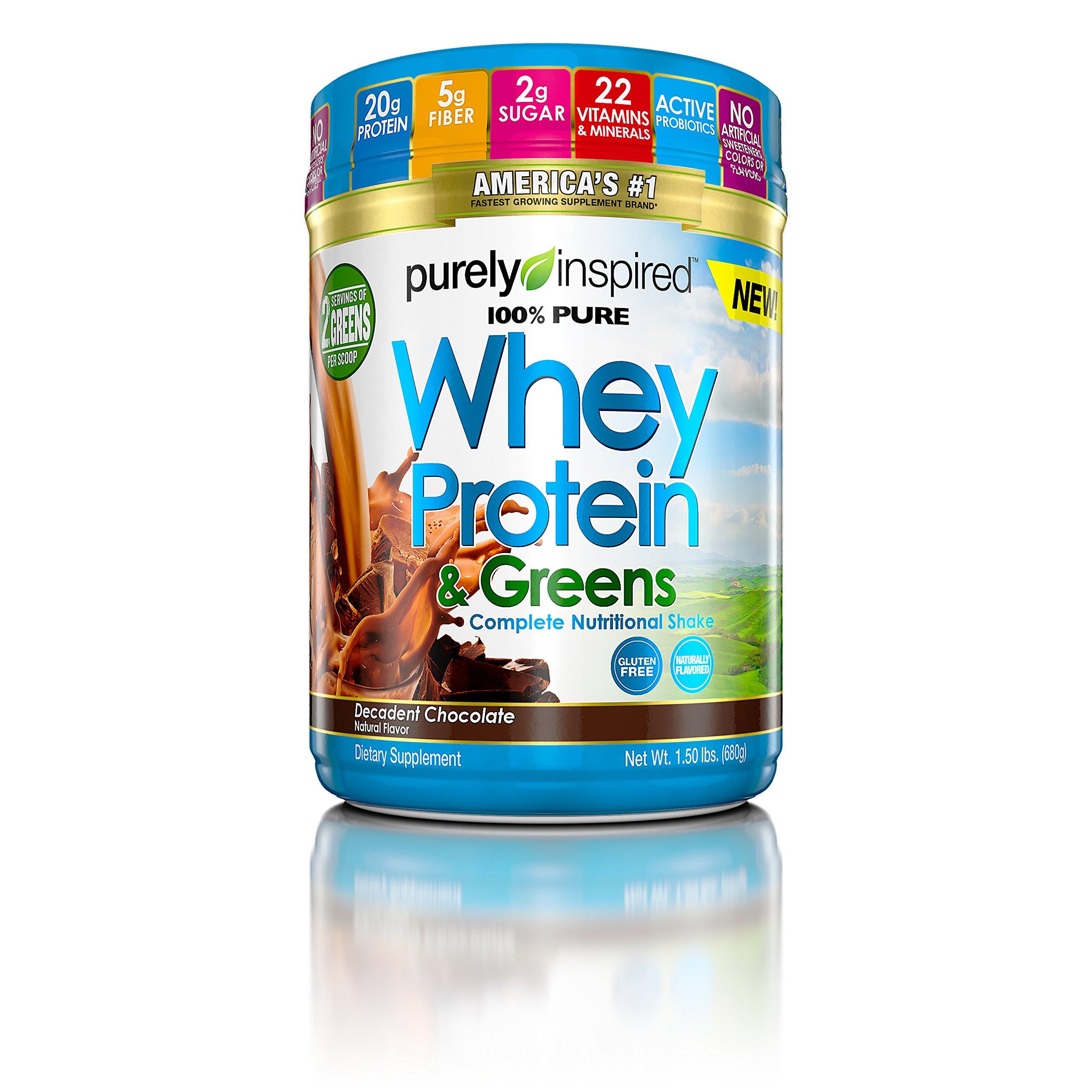 Purely Inspired Organic Greens  Amazon Purely Inspired Organic Protein Powder