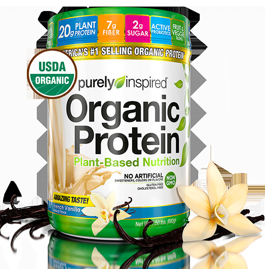 Purely Inspired Organic Greens  Organic Protein
