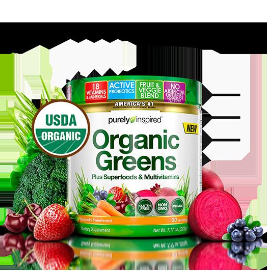 Purely Inspired Organic Greens  Organic Greens